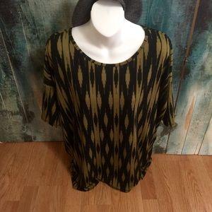 LulaRoe blouse size S
